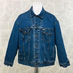 Levi's Vintage Flannel Lined Heavy Jean Jacket 2XL